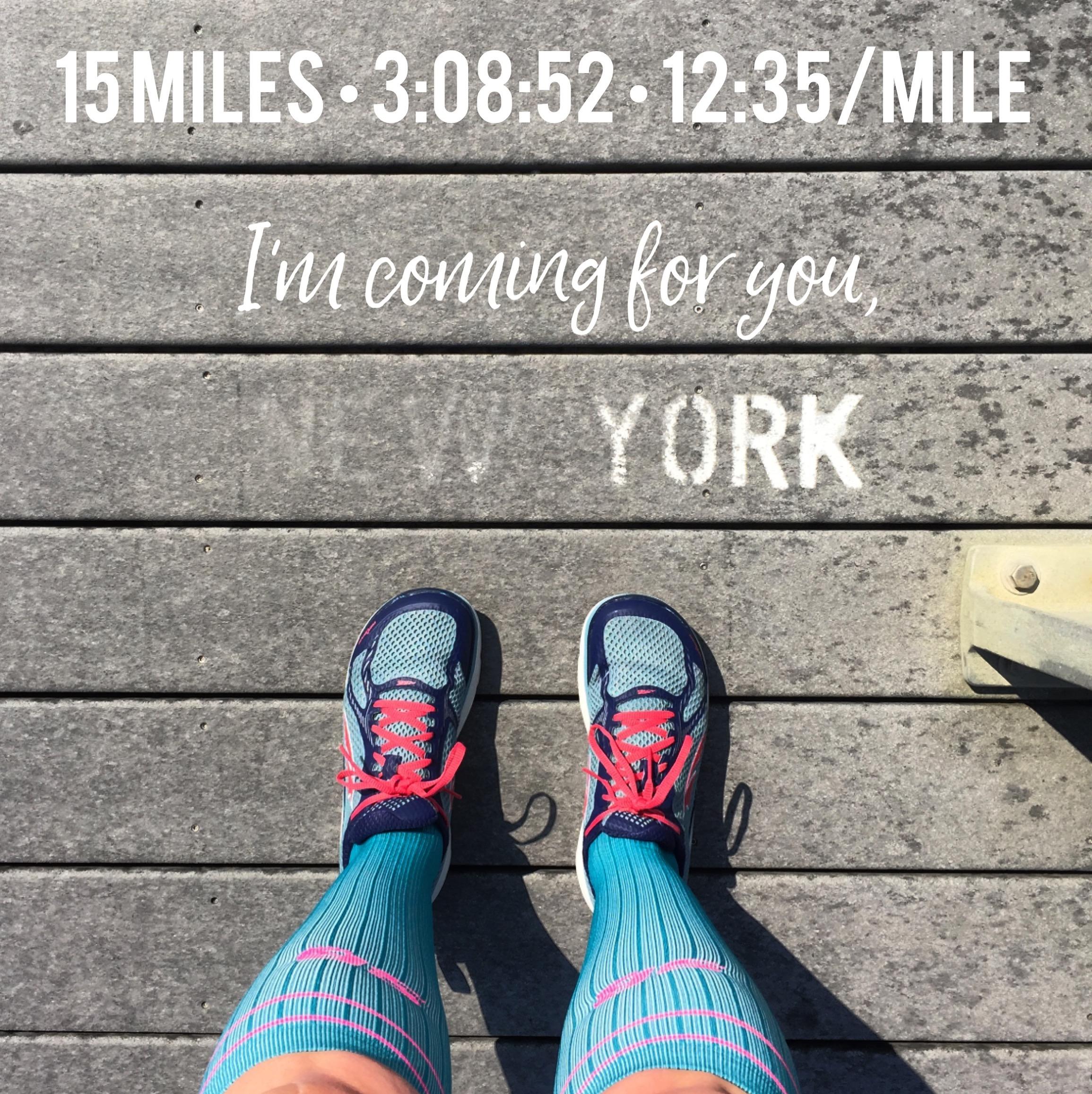 NYC Marathon Training Update   Jess Runs Happy